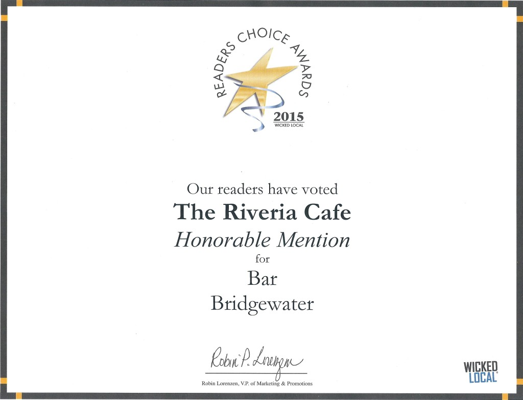 riviera-cafe-brewhouse-readers-choice-2015-bridgewater-massachusetts-bar